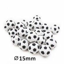 Chengkai mordedor de silicone, 10 peças, contas para futebol, diy, bebê, futebol americano, roupas de desenho animado, brinquedo sensorial, chupeta, fabricação de jóias, miçangas