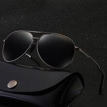 MYT_0252 Aviation Metail Frame Polarized Sunglasses Men Brand Designer Sun Glasses Women Design Pilot Male Driving