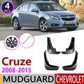 Брызговик для Chevrolet Cruze J300 2008 ~ 2015 брызговики брызговик откидная крышка аксессуары 2009 2010 2011 2012 2013 2014