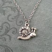 Snail Necklace Teenage-Girl Jewelry Charm Cute