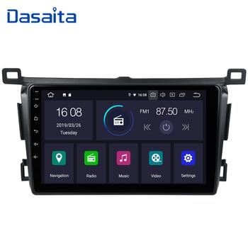 "Dasaita 9"" HD Screen Car Android 9.0 Radio 1 Din for Toyota RAV4 GPS 2015 2016 2017 2018 Quad Core Mp3 Player AutoStereo 16G ROM"