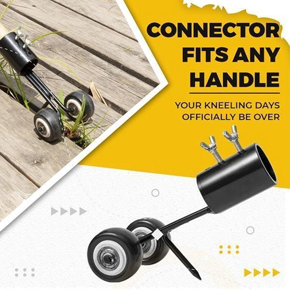 Effortless Weeds Snatcher Weeding Head Garden Weed Razors Grass Cutter Trimming Machine For Garden Bend-Free Weeding Artifact