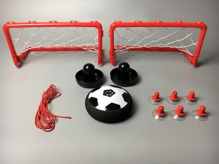 Desktop Suspension Football Air Hover Ball Desktop Battle Game Mini Light Hockey Set