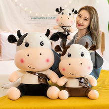 New Plush Cow Pillow Pet-Doll Plush Stuffed Birthday Korean Drama Child-Toys Christmas-Gift Lovely 30-60cm WJ618
