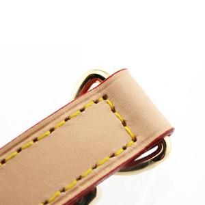 Image 3 - BAMADER Marke Hohe Qualität Aus Echtem Leder Tasche Gurt Länge 107CM 119CM Luxus Einstellbare Schulter Gurt Frauen Tasche zubehör