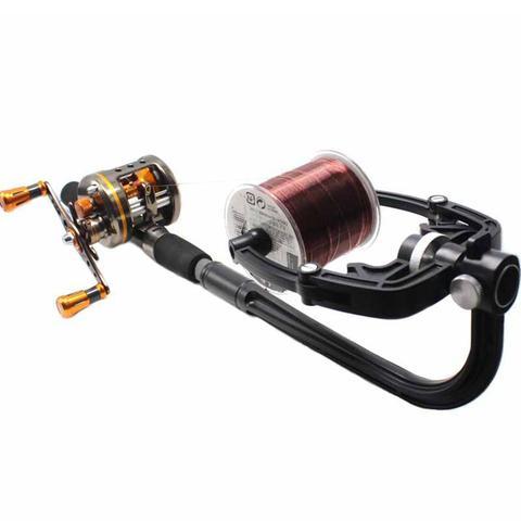 linha de pesca enrolador linha spooler maquina molinete estacao spooling sistema ferramentas