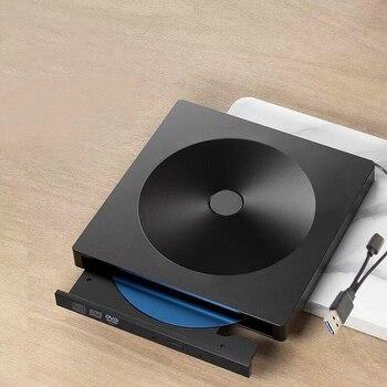 External CD DVD Drive,Type C USB 3.0 Portable External CD DVD Drive Burner Compatible with Mac/Windows Optical Drive CD DVD-RW W фото