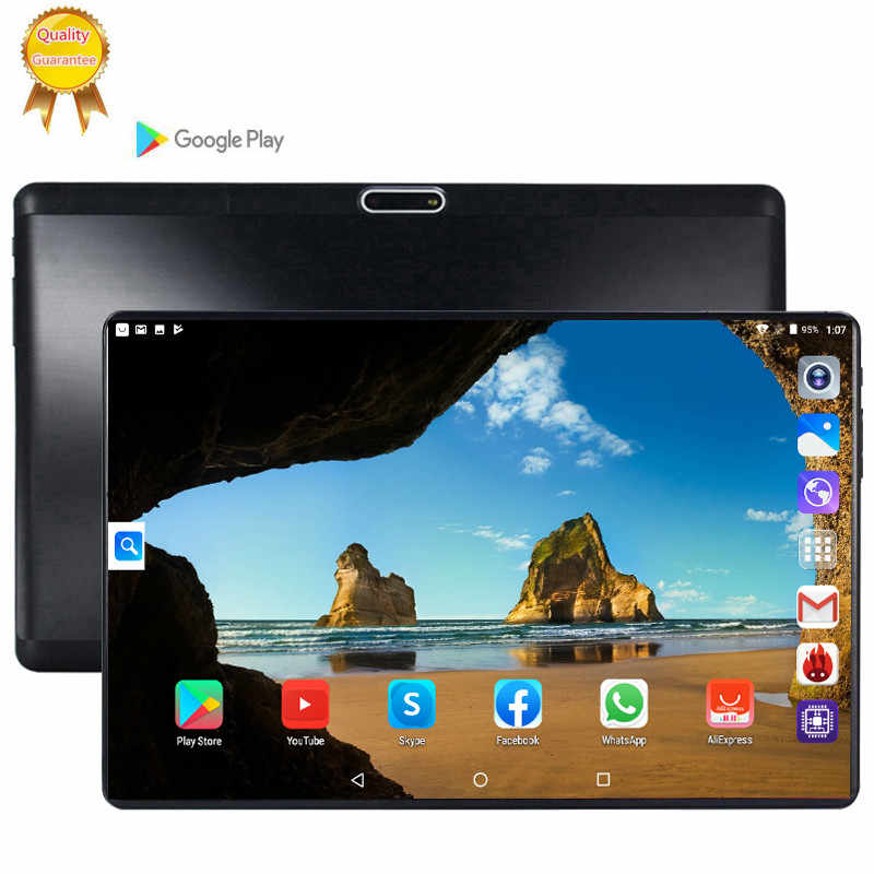 2020 CARBAYTA versión Global oficial 128GB Android 9,0 tableta de 10 pulgadas Octa Core 6GB RAM 64GB 128GB ROM 2.5D tableta de pantalla 10
