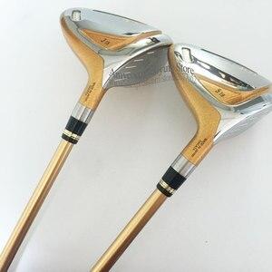 Image 3 - Novo 4 estrelas clubes de golfe honma S 07 fairway madeira 3/5 madeira clube r ou s flex eixo grafite e headcover frete grátis