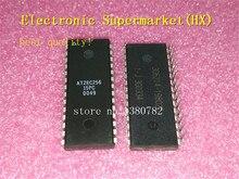 Ücretsiz Kargo 50 adet/grup AT28C256 15PC AT28C256 DIP 28 Yeni orijinal IC stokta!
