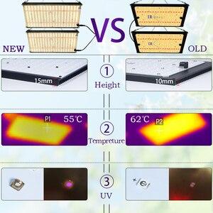 Image 4 - Tablero de luz Led de espectro completo Samsung lm301b QB288 3000 K/3500 K/4000 K/3000 K + 660nm controlador Meanwell 120 w/240 w piezas de bricolaje