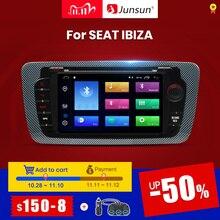 Junsun أندرويد 9.0 مشغل أسطوانات للسيارة راديو لمقعد إيبيزا 6j 2009 2010 2012 2013 الملاحة لتحديد المواقع 2 الدين شاشة راديو الصوت مشغل وسائط متعددة