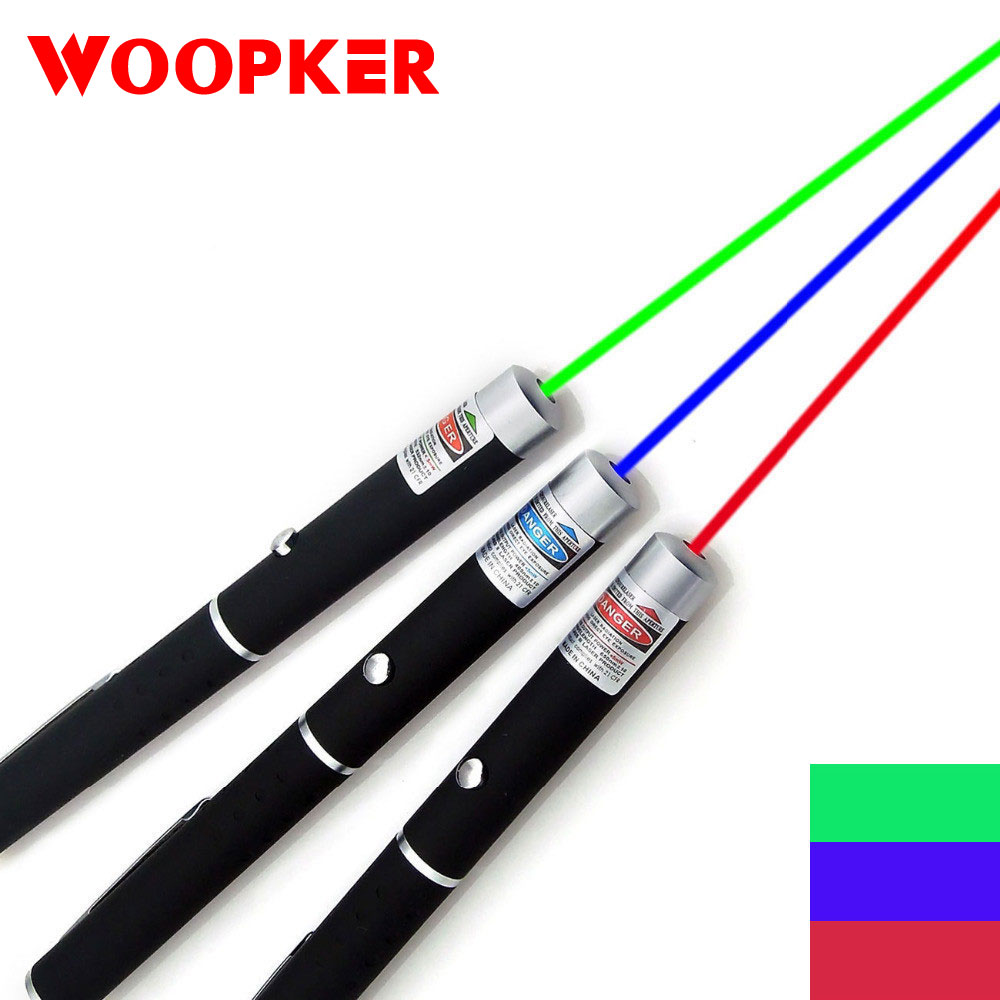 Green Laser Pen 5MW 530Nm 405Nm 650Nm High Power Blue Point Laser Sight Powerful Laser Pen For Office School