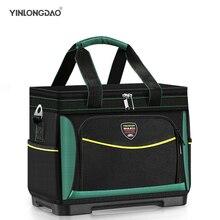 Multi-function Tool Bag1680D Oxford Waterproof Electrician Bag Wear-resistant Tool Storage