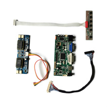 VGA Controller-Board-Kit M.nt68676-Monitor LVDS DVI Matrix Fit 30-Pin 4CCFL M170EN07/M170EU01