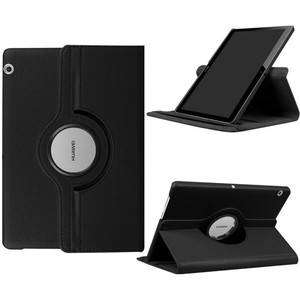 """360 Rotating PU leather Cover Case For Huawei MediaPad T3 10 9.6"""" 8.0 7.0 Wifi BG2-W09 AGS-W09/L09 KOB-L09/W09 Tablet Case Glass(China)"""