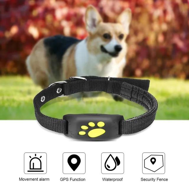 Pet Gps Tracker Ip65 Waterproof Mini Smart Pet Tracker Dog and Cat Collar Waterproof Callback Function Agps Lbs Sms Positioning