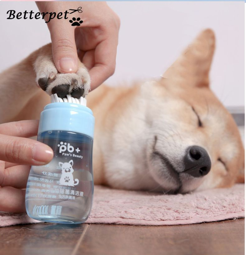 <font><b>Cleaner</b></font> Portable Pet Cat <font><b>Dog</b></font> Foot Cup Silicone Travel <font><b>Dog</b></font> <font><b>Paw</b></font> Wash Clean Cup Pet Foot Massager Washer <font><b>Dogs</b></font> Grooming Tool image
