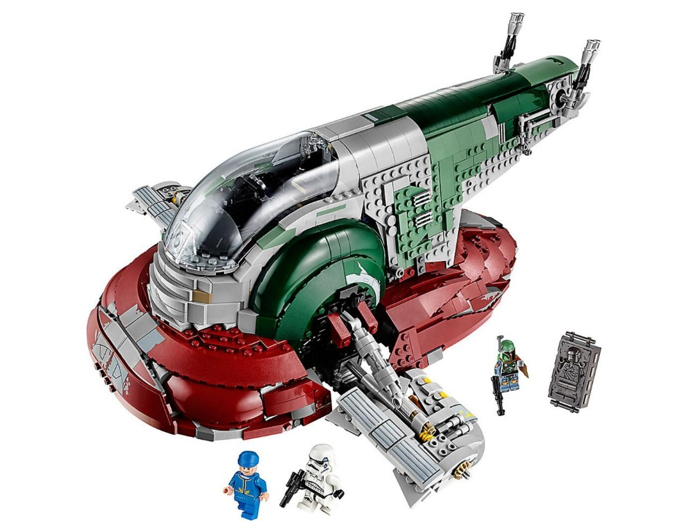 <font><b>05037</b></font> Star Classic Series Wars Slave UCS I Slave NO.1 Model 2067Pcs Building Block Bricks Toys Compatible 75060 Boy Gifts image