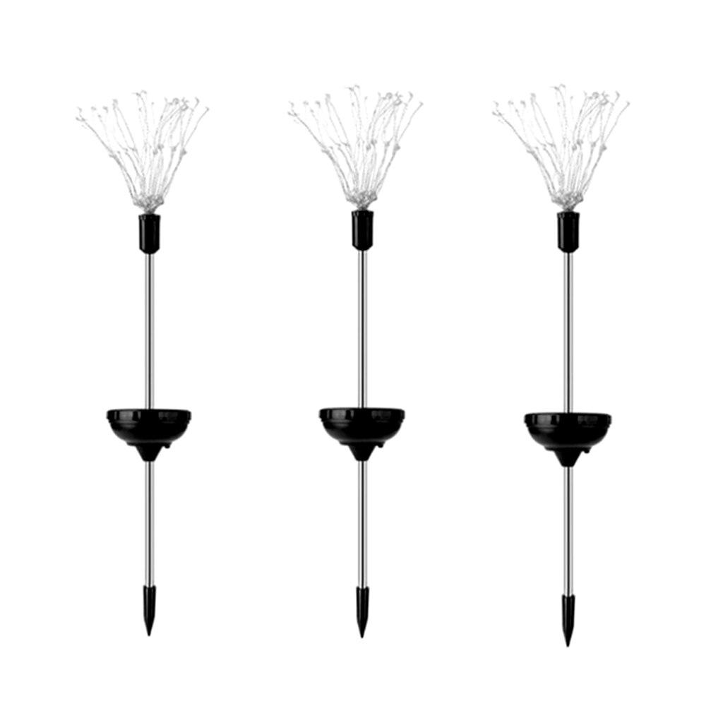 2 Pcs LED Solar Power Firework Light Lamp Durable For Outdoor Lawn Wedding Garden TSH Shop Outdoor Decoration Xmas Decor Garden