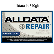 2020 Alldata Repair auto alldata repair software 10.53v tutti i dati software per auto con supporto tecnico per auto e camion in hdd da 640gb