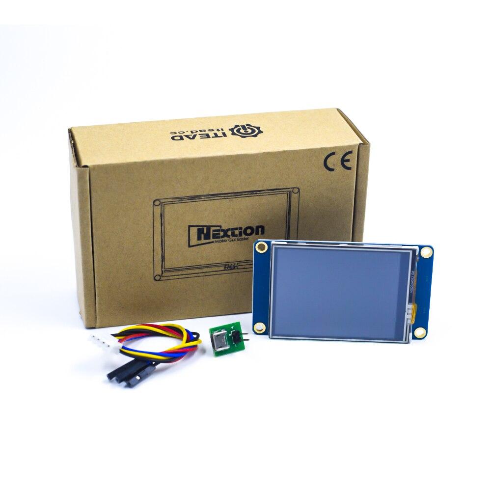 Nextion NX3224T024 2,4 2,8 3,2 3,5 4,3 5 7 дюймов человек-машина интерфейс HMI ядра сенсорный экран TFT ЖК-модуль дисплей Панель