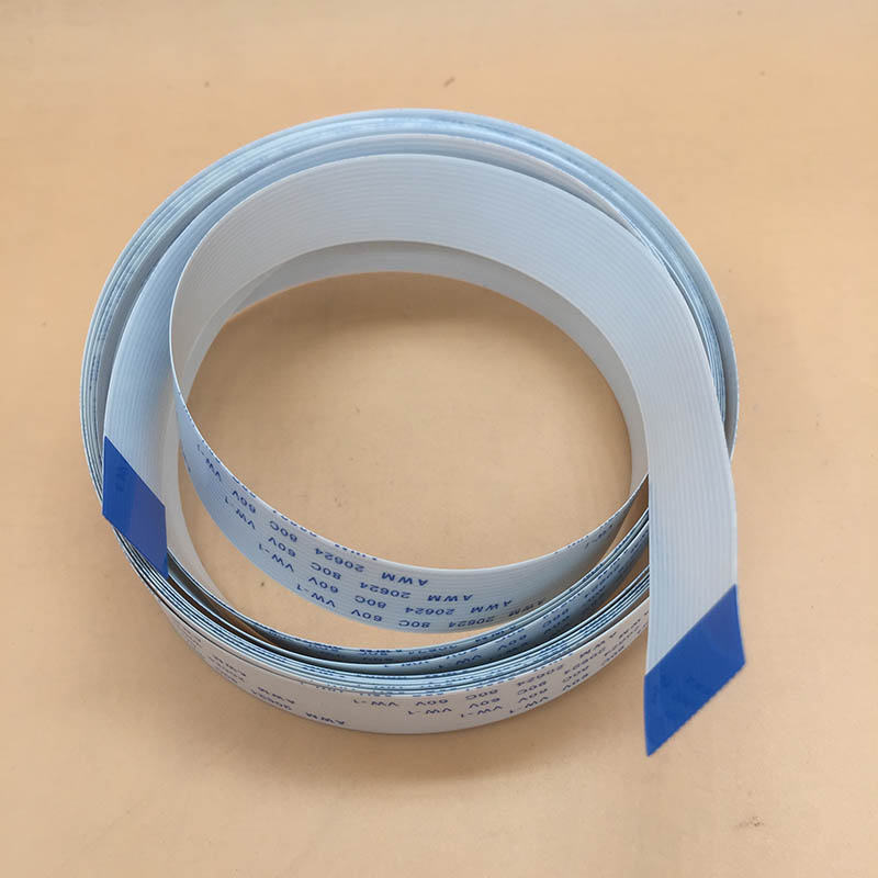 1.27 mm 10 Way//Broche 10P IDC Ribbon Cable AWG28 300 V AWM2651 1 Mètre Longueur
