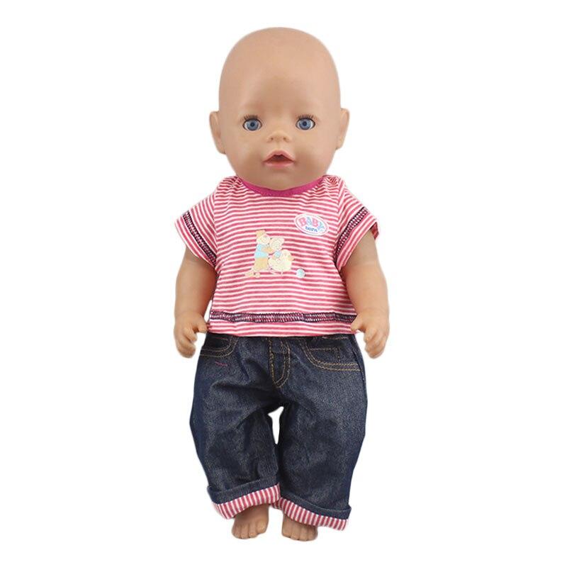 Костюм с платьем для детской куклы 17 дюймов 43 см, одежда, аксессуары для куклы|Куклы|   | АлиЭкспресс