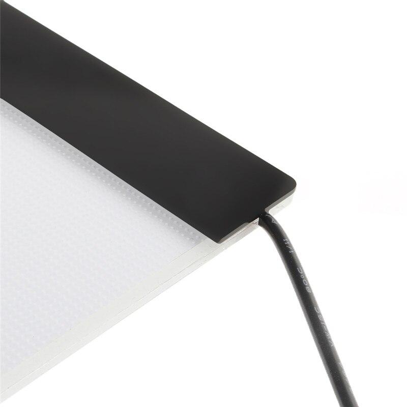 1 Set A4 LED Artist Thin Art Stencil Board Light Box Tracing Drawing Board NEW D08B