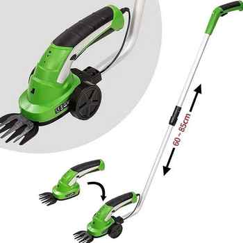 7.2V Mini Electric Grass Trimmer Lawn Mower Lithium-ion Cordless Hedge Trimmer Rechargeable Cutting Garden Tools Weeding Shear - DISCOUNT ITEM  15 OFF Tools