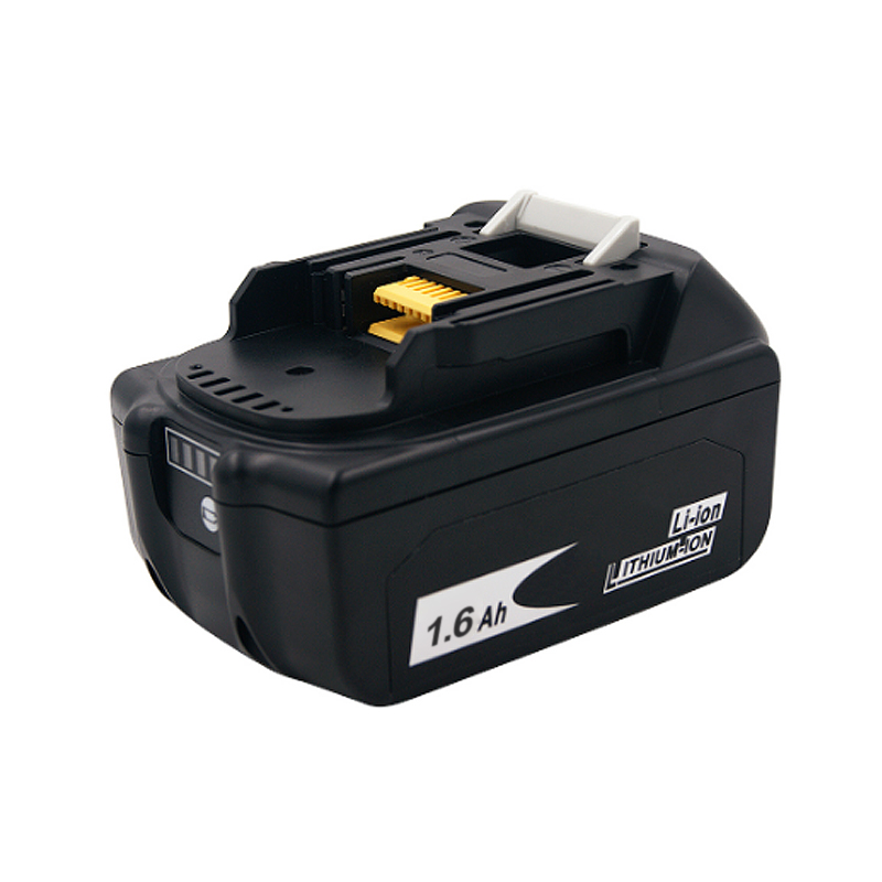 PRACMANU 18V 1600mAh Lithium Battery Battery Cordless  Charger Battery For Electric Brushless Impact Wrench
