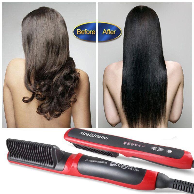 pente quente cuidados com o cabelo
