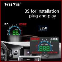 GEYIREN E350 OBD2 HUD Auto head up Display 5,8 Zoll Bildschirm Stecker Und Spielen Überdrehzahl Alarm Kraftstoff Verbrauch display hud projektor