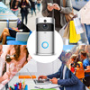 Wsdcam Smart Doorbell Camera Wifi Wireless Call Intercom Video-Eye for Apartments Door Bell Ring for Phone Home Security Cameras Computer, Office & Security