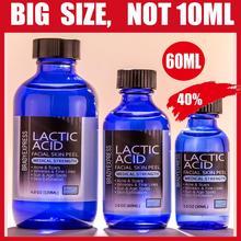 NEW 2 oz LACTIC Acid Skin Peel- 40% - For: Acne, Scars, Wrinkles, Melasma, Age S