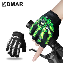 1Pair Half Finger Cycling Gloves Anti-Slip Gel Bicycle Riding Anti Slip For MTB Road Bike Glove Sports Accessories