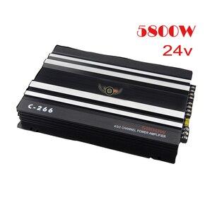 4 Channel 24V Car Amplifier Ve