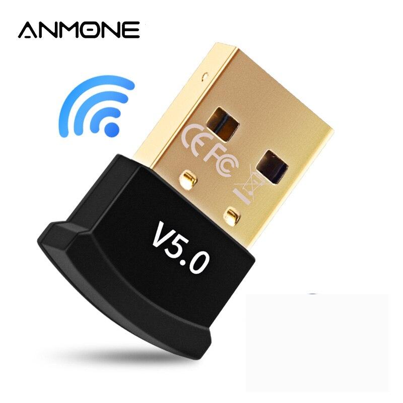 אמיתי 5.0 Bluetooth מתאם USB Bluetooth משדר עבור מחשב מחשב קולט מחשב נייד אוזניות אודיו מדפסת נתונים Dongle מקלט