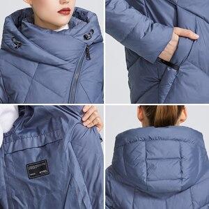 Image 5 - MIEGOFCE مجموعة شتاء 2019 للنساء معطف سترة دافئة للنساء عدة ألوان غير عادية منحنى سحاب يعطي نموذج نمط خاص