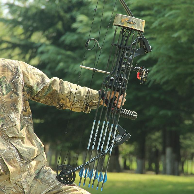 1pc Archery Arrow Quiver Holder TP726 5pcs Arrow Quick Release Box Compound Bow Recurve Bow Accessories