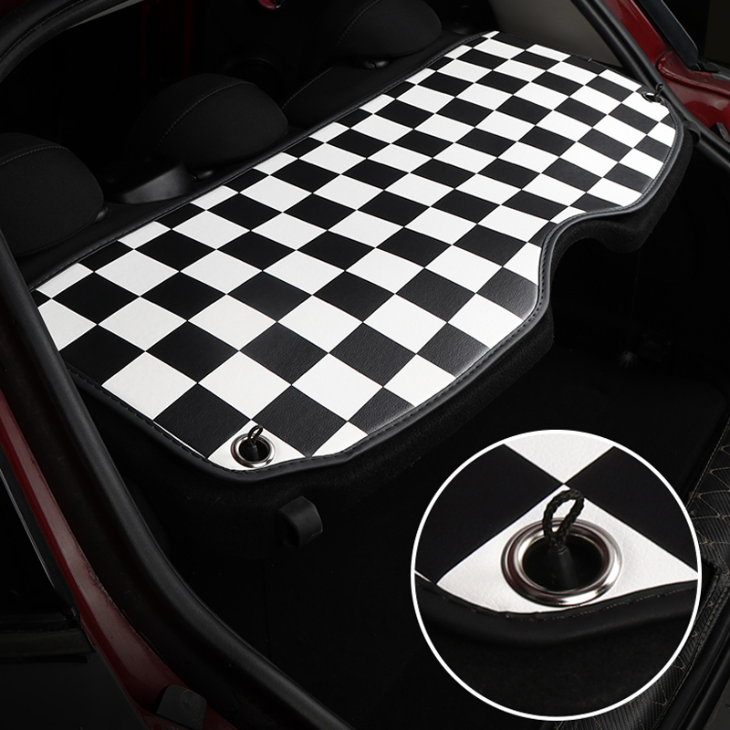 cheapest Car interior trunk window pad For BMW MINI COOPERS ONE F55 F56 F60 car styling COUNTRYMAN car interior decoration accessories