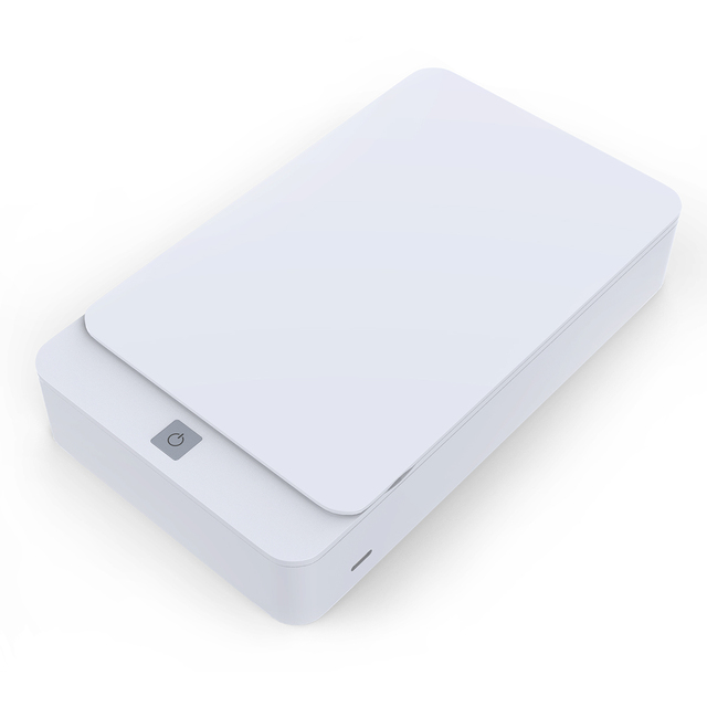UV Disinfection Box Sanitizer Charger Prevent Flu For iPhone/Samsung Mobile Phone Headphones Mask Sterilizer Kill 99.9% germ 2