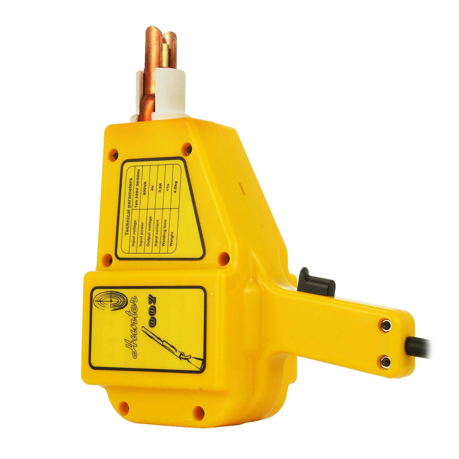 Stud Welding A Spot Puller Gun 1600 Accessories Kit With Dent Welder