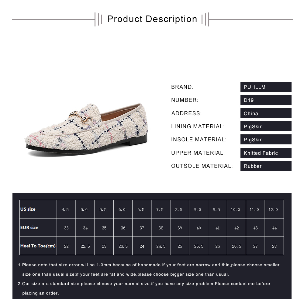 Image 5 - PUHLLM   Pink Falts Shoes Women 2019 Autumn Ladies Falts Shoes Lining sheepskin Round Toe  Fashion Women's Shoes slip ons  D19-in Women's Flats from Shoes