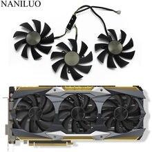 Ventilador de refrigeração, ga92s2u dc12v 0.46a para zotac gtx1080ti amp extreme gtx 1080 ti core edition placa gráfica dissipador de calor