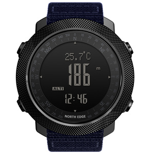 Image 2 - NORTH EDGE Mens sport Digital watch Hours Running Swimming Military Army watches Altimeter Barometer Compass waterproof 50m