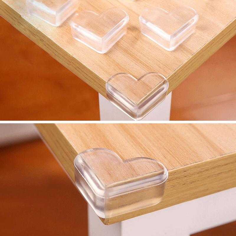 5pcs Safety Silicone Protector Table Corner Edge Protector  Child Baby Tabal Coner Cover Children Anticollision Edge Guards