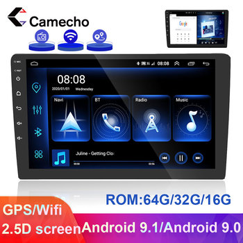 Camera 2 Din Android Car Radio Car GPS Multimedia Player Mirror link 2 din Autoradio For VW Skoda Toyota Passat b6 b7 Polo Golf image