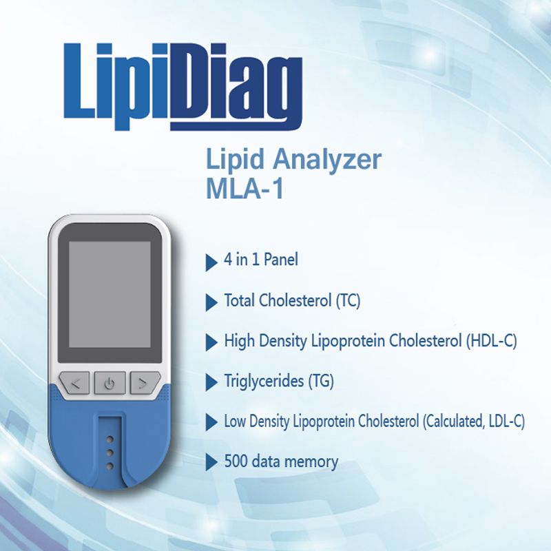 4in1 Optics Blood Lipid Analyzer Total Cholesterol (TC) High Density Lipoprotein Cholesterol (HDL) &triglyceride (TG) Cholestero