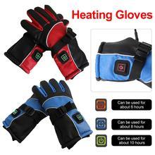 AUTOECHO 3000 MAh Electric Gloves USB Motorcycle Heating Waterproof Lithium Battery Charging